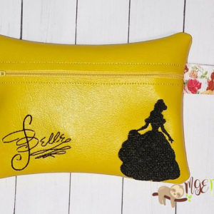 ITH Belle Signature Bag Machine Embroidery Design Digital Download MGEDesigns