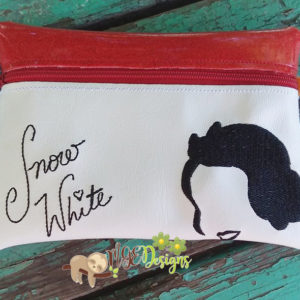 ITH Snow White Signature Bag Machine Embroidery Design Digital Download MGEDesigns
