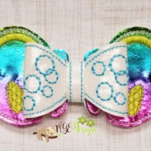 3D Kissing Fish Bow Machine Embroidery Design Digital Download MGEDesigns