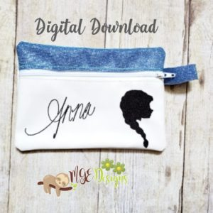ITH Anna Signature Bag Machine Embroidery Design Digital Download MGEDesigns