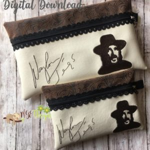 ITH Waylon Signature Bag Machine Embroidery Design Digital Download MGEDesigns