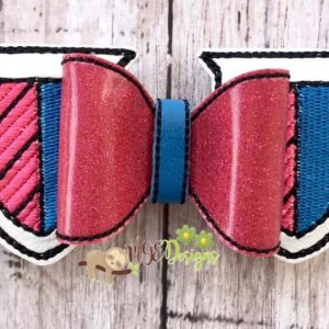 3D MH Shield Bow Machine Embroidery Design Digital Download MGEDesigns