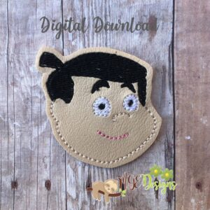 Chavo Boy3 Feltie Machine Embroidery Design Digital Download by MGEDesigns