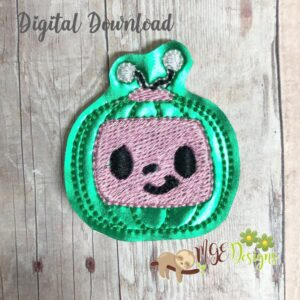 Melon TV Feltie Machine Embroidery Design Digital Download by MGEDesigns
