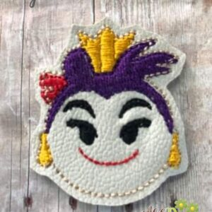 Queen Hearts Feltie Machine Embroidery Design Digital Download by MGEDesigns
