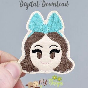 Drizella Feltie Machine Embroidery Design Digital Download by MGEDesigns