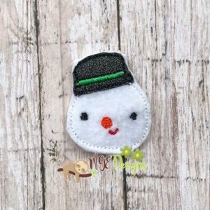 Updated Chilly Feltie Machine Embroidery Design Digital Download by MGEDesigns