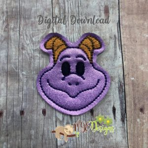 Fig-Ment Feltie Machine Embroidery Design Digital Download by MGEDesigns