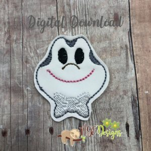 Mr Toad Feltie Machine Embroidery Design Digital Download by MGEDesigns